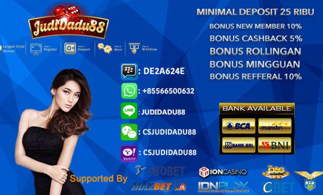 Bermain Casino Online di Situs dipercaya