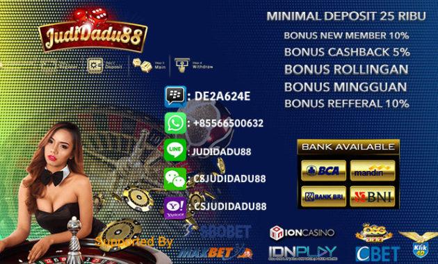 Daftar Ceme Terpercaya Minimal Deposit 25rb