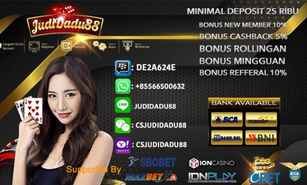 Agen Idn Poker Online Resmi Bank BCA
