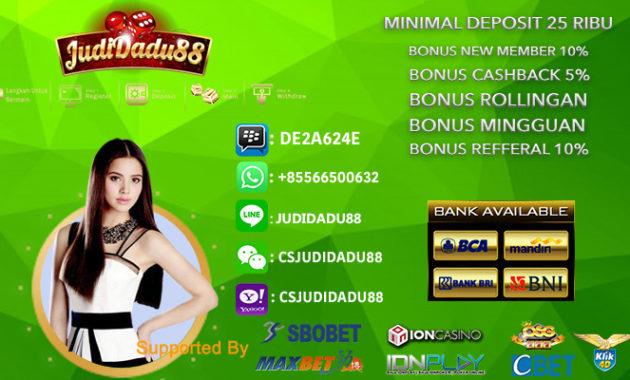 Agen Resmi Casino Online Indonesia 2020