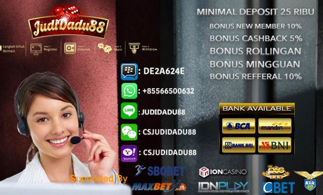 Main Judi Casino Online Resmi Terpercaya