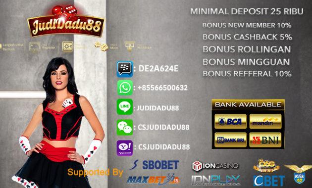 Agen Judi Casino Online Minimal Deposit 50rb
