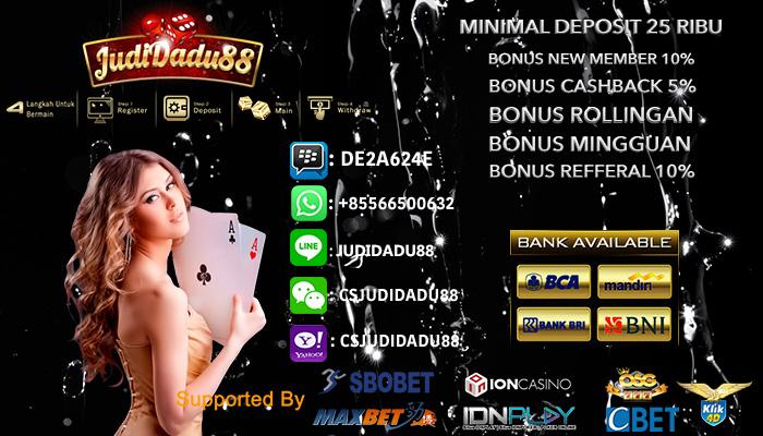 Ajang Taruhan Judi Casino Online Terbaik