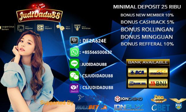Casino Online Indonesia Minimal Deposit 50rb