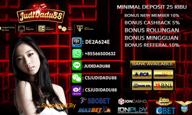 Judi Casino Online Indonesia Deposit e-Money