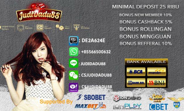 Daftar Casino Online Indonesia Minimal Taruhan 1000