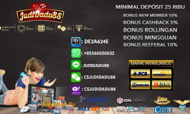 3 Cara Taruhan Casino Online Indonesia 25rb