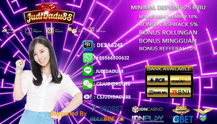 Daftar Judi Casino Online Deposit e-Money