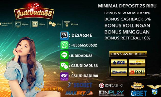 3 Modal Utama Bermain Casino Online Indo 50rb