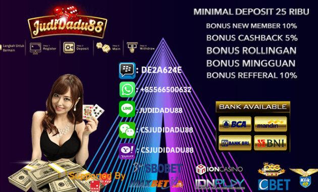 Situs Judi Casino Online Pemula 2020