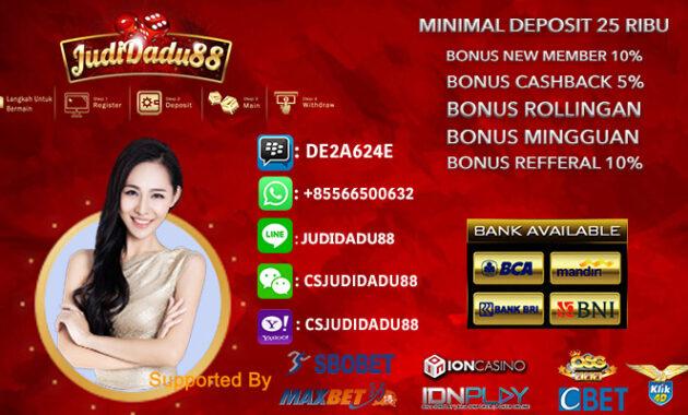 Casino Online Deposit 25ribu Untuk Pemula