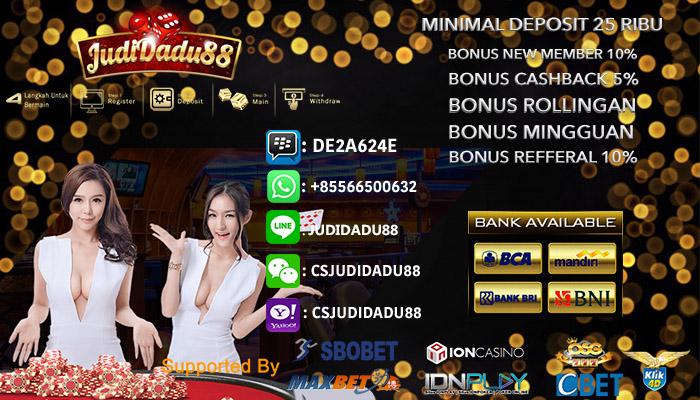 Juarai Judi Casino Online Semua Permainan